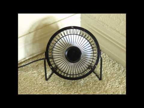 Soothing Sound of mini Oscillating Fan