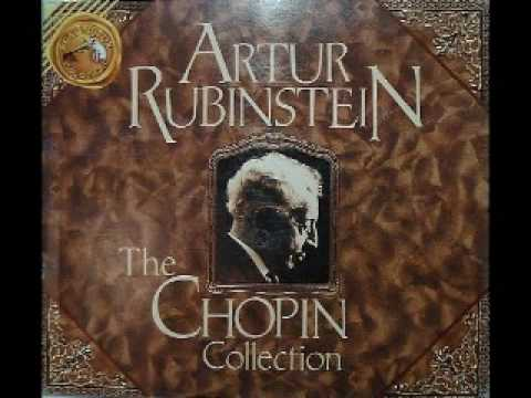 Arthur Rubinstein - Chopin Ballade No. 3 in A-flat major, Op. 47