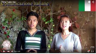 [Comunicazione italiana] - Giao tiếp tiếng Italia cơ bản - Minh Tân ft Mai Hương ft Chúc Anh