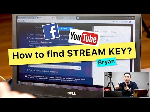 How To Get The Stream Key For Facebook And YouTube On The ATEN UC9020 StreamLIVE HD