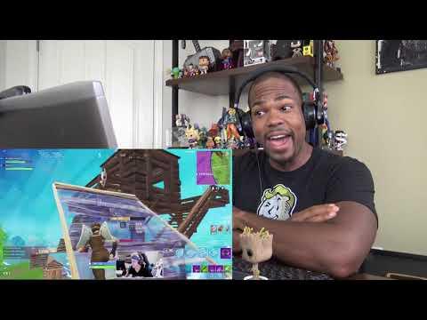 Ninja Fortnite Best Moments Part 2 - REACTION!!!