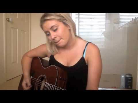 i kissed a girl cover by Ellie Drennan