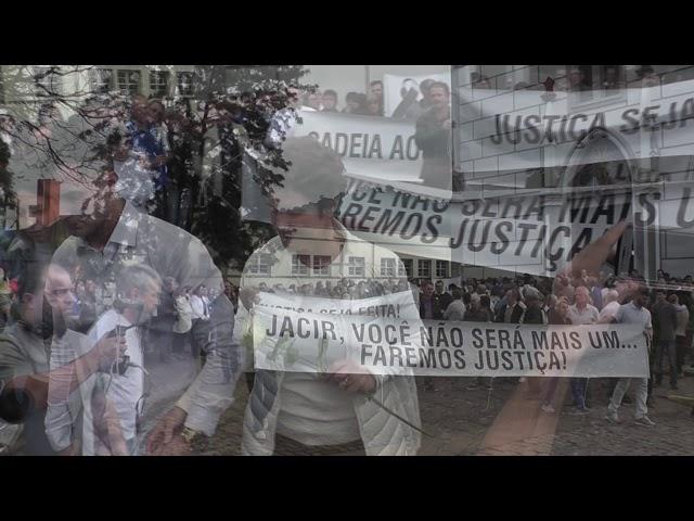 Manifestação pede que justiça seja feita no caso Jacir Potrich