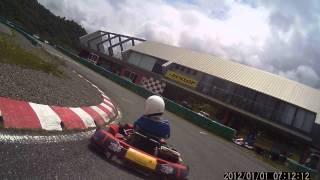 2レース目です。 ファイナルLAP 最終コーナーは審議です。