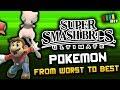 Gambar cover Ranking Every POKEMON in Super Smash Bros Ultimate TetraBitGaming
