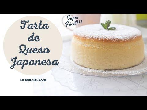 Tarta de queso JAPONESA MUY FÁCIL!!!   La Dulce Eva