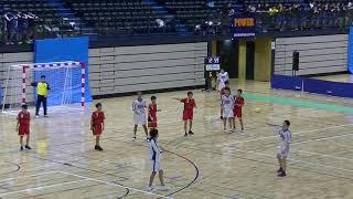 20191130福岡県中学新人ハンドボール(男子) 準々決勝 多々良中央vs当仁(前半)