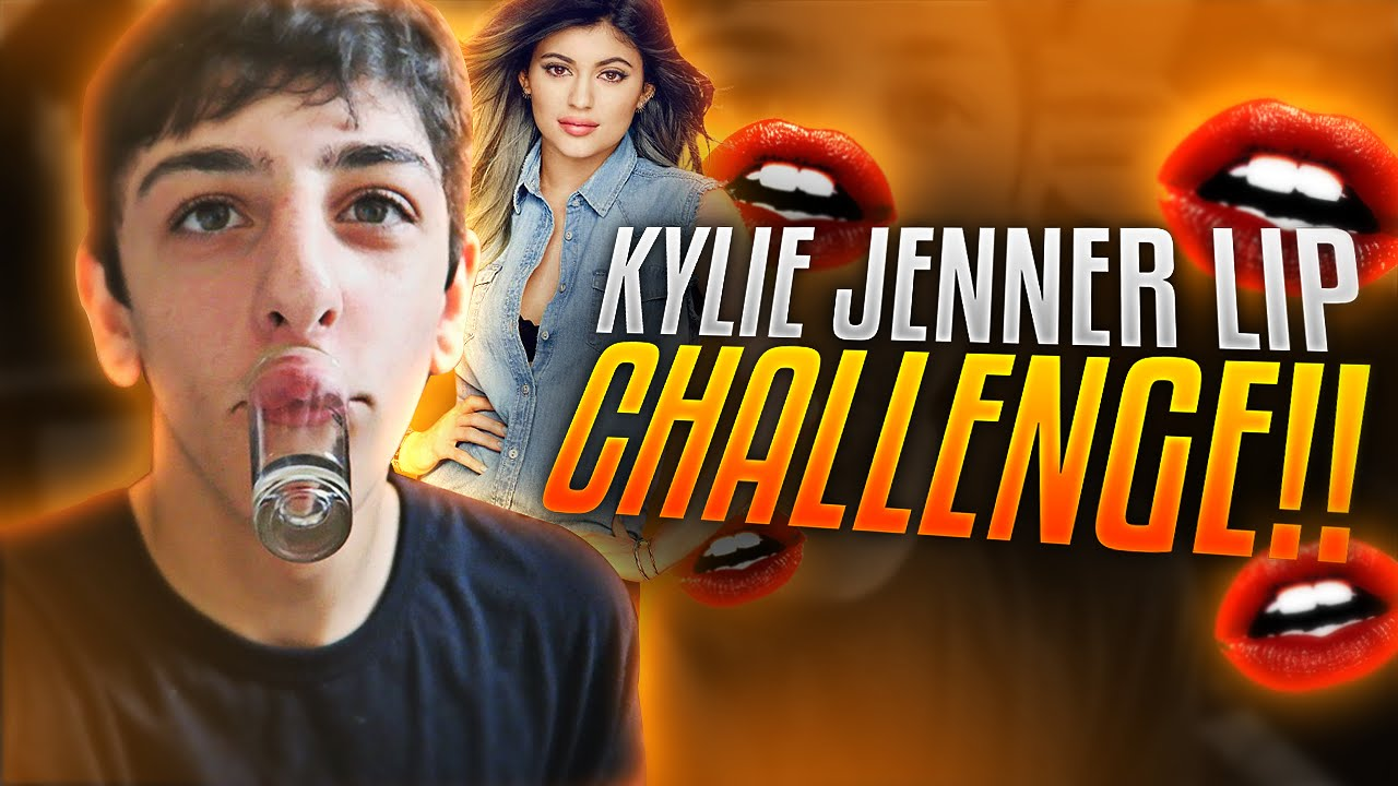Kylie Jenner Lip Challenge Faze Rug Youtube