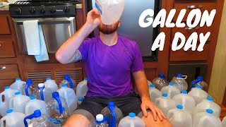I Drank A Gallon Of Water A Day For 30 Days * AMAZING RESULTS *