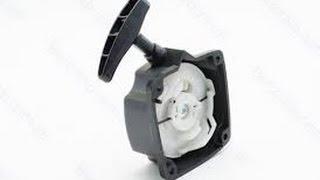 Ремонт стартера мотокосы, триммера, если не откручивается винт