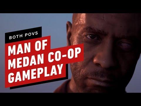 18 Minutes of Man of Medan Co-op Gameplay (Both POVs)
