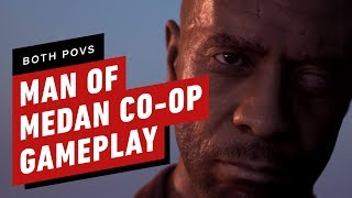 18 Minutes of Man of Medan Co-op Gameplay (Both POVs)