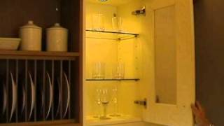DIY Kitchens - Glass Wall Unit - Example 2