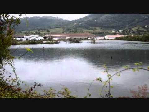 OCTUBRE   14 UNA DE LAS MAYORES MAREAS AÑO  EN  LA RIA DE VILLAVICIOSA ASTURIAS