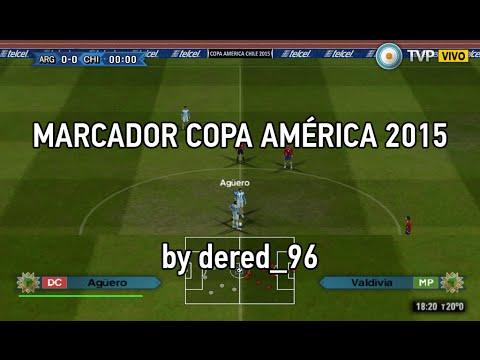 MARCADORES 2015 PARA PES 6 - YouTube