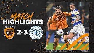 Hull City 2-3 Queens Park Rangers  Highlights  Sky Bet Championship