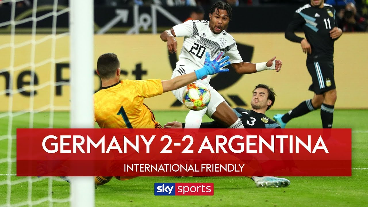 Germany 2-2 Argentina | Highlights | International Friendly