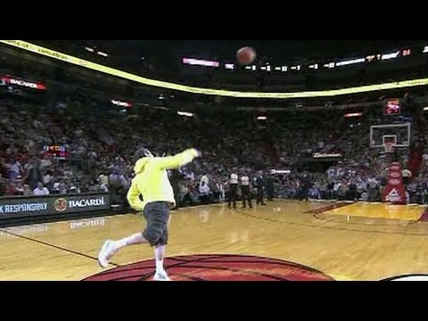 Thumbnail: NBA Fans Making Half Court Shots For Money/Cars Compilation