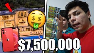 ¡COMPRAMOS 100 BOLETOS de RASCA Y GANA y BUSCAMOS EL PREMIO MAYOR! $7,500,000 *nos hacemos ricos*