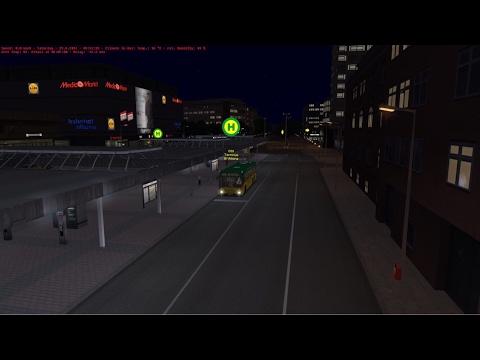 OMSI 2: Steam Edition - (Hamburg Bus Line) - To Bahnof Altona Terminal |