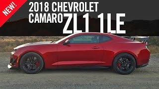 2018 Chevrolet Camaro ZL1 1LE Review First Drive Test