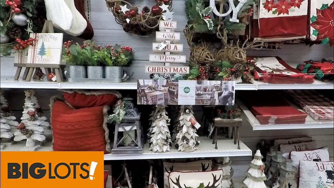 Big Lots Christmas.Christmas 2018 At Big Lots So Far Christmas Decorations Ornaments Home Decor Shopping