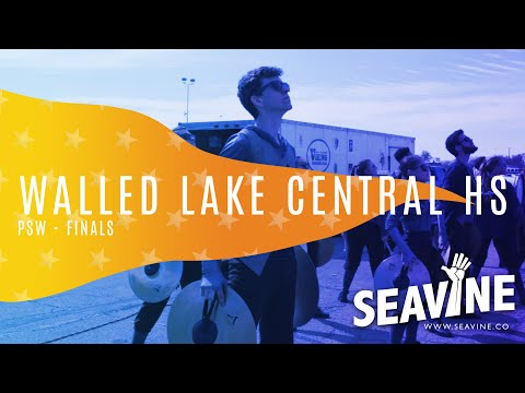 Walled Lake Central High School Cymbal Line 2019 Finals- In the Lot with Seavine