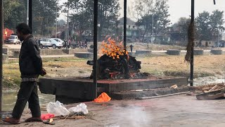 Nepal'de Ölü Yakma Töreni ve bazı başka şeyler.