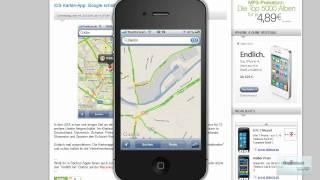 InfoVideo: Google Maps Verkehr - OS X Lion am 21