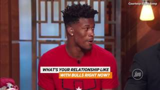 Jimmy Butler on Derrick Rose Trade to New York Knicks ¦ 2016 NBA Offseason