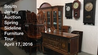 April 17, 2016 Spring Sideline Furniture Tour - South Jersey Auction