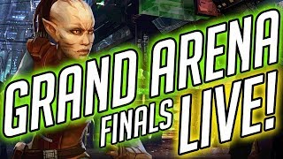 GRAND ARENA LIVE! It's the FINALS of Season 8! | Star Wars: Galaxy of Heroes thumbnail