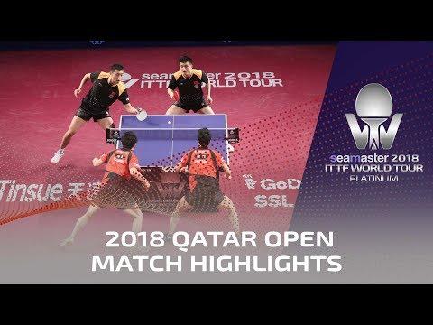 2018 Qatar Open Highlights I Fan Zhendong/Xu Xin vs Jun Mizutani/Yuya Oshima (Final)