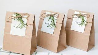 طريقة سهلة وشيك لتغليف الهدايا ومناديل كتب الكتاب 🎉👰