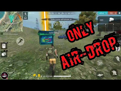 ONLY AIRDROP|FREE FIRE||☣️ TOXIC JOKER GAMING☣️|