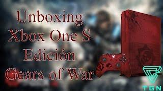 Unboxing Xbox One S Edición Gears of War 4 en Español (MX) 1080p 60fps