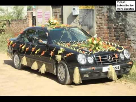 Wedding Innova Car Decoration Pictures Of Car Decor Youtube