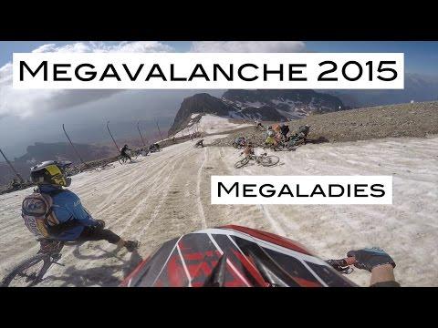 Megavalanche 2015   - Megaladies - Alpe d'Huez - Downhill Marathon - DH - Claudia Clement