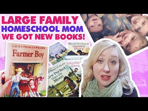LARGE FAMILY HOMESCHOOL MOM DAY IN THE LIFE | We Got New Books!