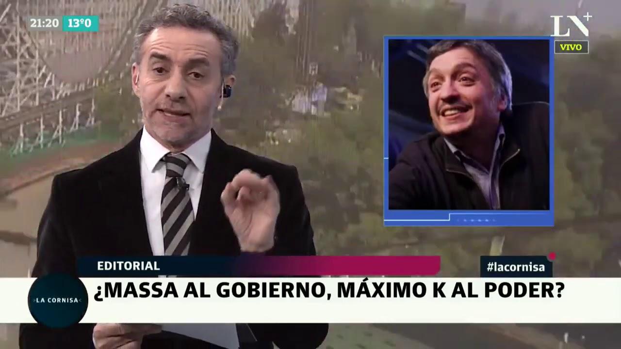 Luis Majul: ¿Sergio Massa al gobierno, Máximo Kirchner al poder? - Editorial - La Cornisa