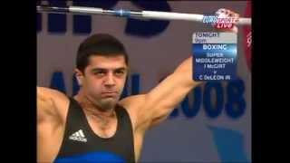 2008 European Weightlifting 69 kg Snatch