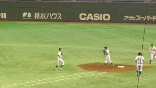 東日本国際大学 シートノック(第65回全日本大学野球選手権大会_160606)