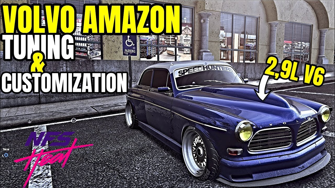 Need For Speed Heat Volvo Amazon 724bhp Engine Swap Drag Build
