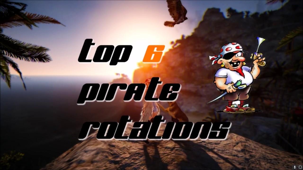 TOP 6 PIRATE ROTATIONS   Black Desert Online
