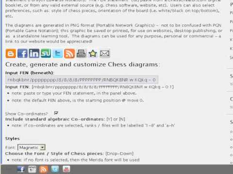 Chess Diagram Generator Create Puzzles Problems Positions Openings