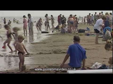 Modern and archive video of Skegness, Lincolnshire