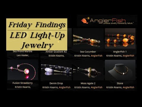How to Make Luminous Beads & Jewelry-Light Up LED Necklaces-Friday Findings