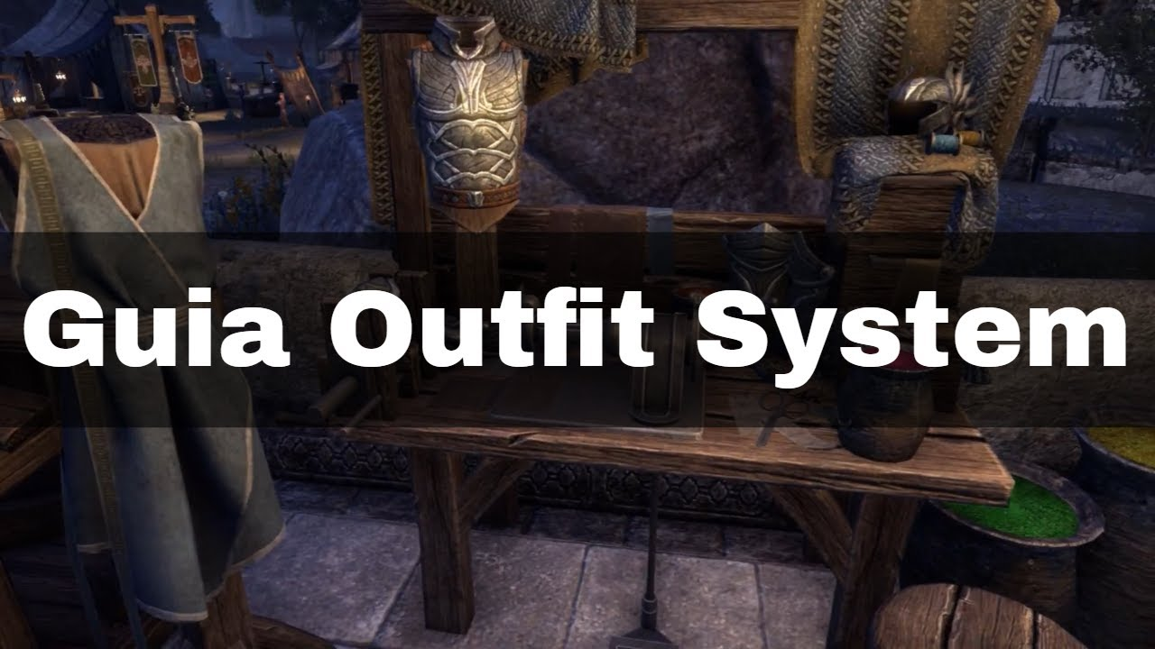 Guia Outfit System - The Elder Scrolls Online