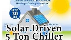 Solar Driven 5 Ton Chiller