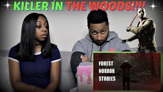 "Mr. Nightmare ""3 Scary TRUE Forest Horror Stories"" REACTION!!!!"
